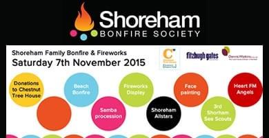 Shoreham Bonfire 2015